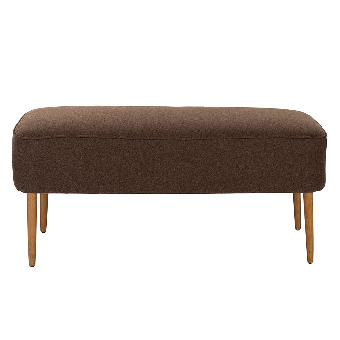 banc madison tissu marron safavieh prix et. Black Bedroom Furniture Sets. Home Design Ideas