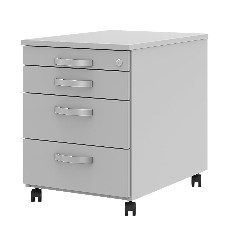 caisson de bureau noir 2 tiroirs new. Black Bedroom Furniture Sets. Home Design Ideas