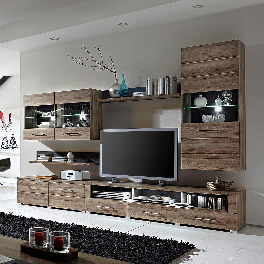 tour multimedia bois facade noire prix et meilleures offres. Black Bedroom Furniture Sets. Home Design Ideas