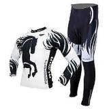 LightInTheBox Costumes cyclisme MOON Vélo/Cyclisme Maillot / Collants / Maillot  Pantalon / Ensemble de Vêtements