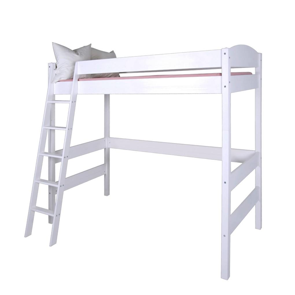 lit mezzanine ida hauteur 180 cm lit mezzanine volutif blanc lilokids prix et meilleures. Black Bedroom Furniture Sets. Home Design Ideas